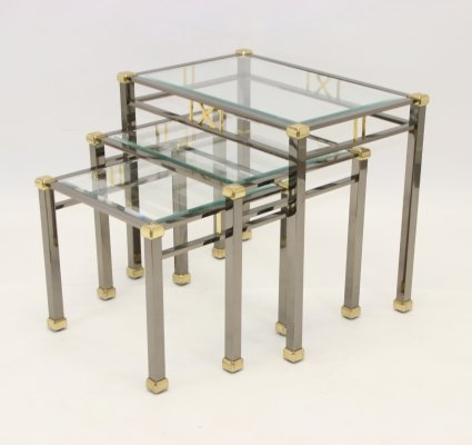 Set of nesting tables by Eichholtz Lindon, 1960s