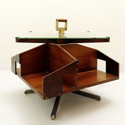 Ico Parisi Rotating Bar Table, Italy Circa 1957