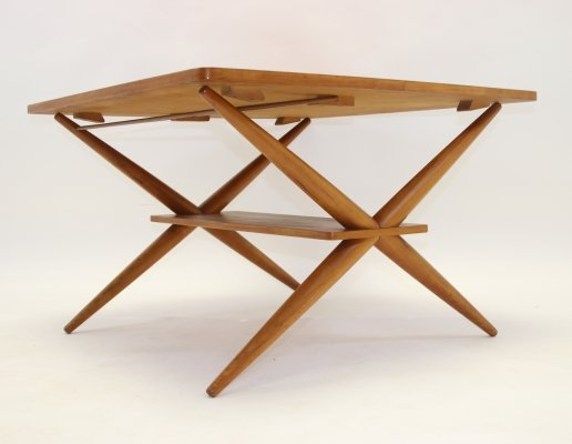 Adjustable Scandinavian Teak Coffee / Dining table, 1960s