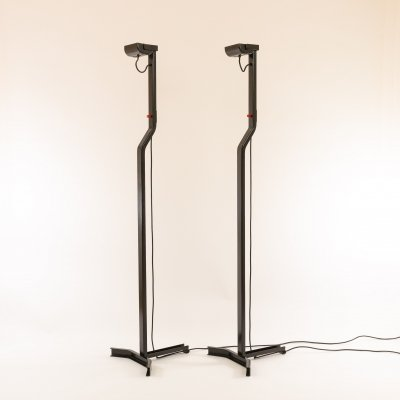Pair of Sirio floor lamps by Kazuhide Takahama for Sirrah