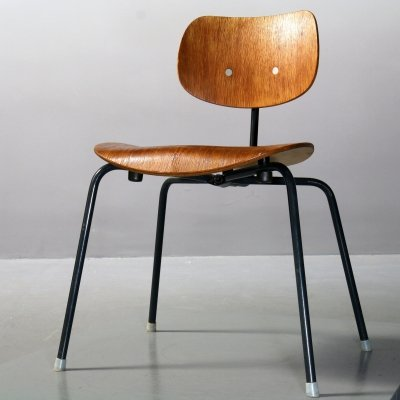 SE 68 stacking Chair by Egon Eiermann for Wilde+Spieth, 1960s