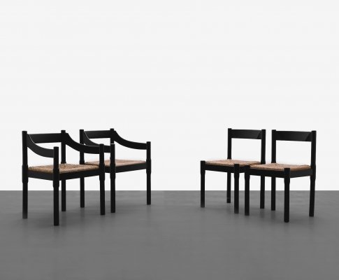 Carimate chairs by Vico Magistretti, 1960s