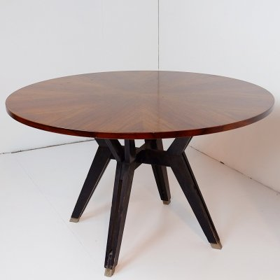 Round Table by Ico Parisi for M.I.M. Roma, Italy Circa 1958