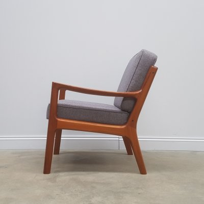 Senator Easy Teak Chair by Ole Wanscher for France & Son, 1951