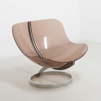'Sphere' Lounge Chair by Boris Tabacoff for MMM, France 1971