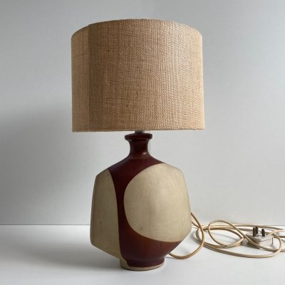 Mid Century 'Nanceddan' Pottery Table Lamp by Peter Ellery for Tremaen, c.1960