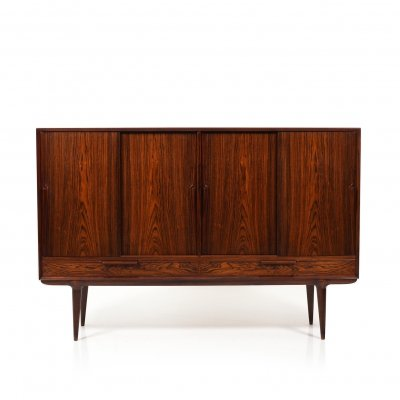 Mid Century Danish Model 13 Highboard by Omann Jun. Møbelfabrik, 1950s