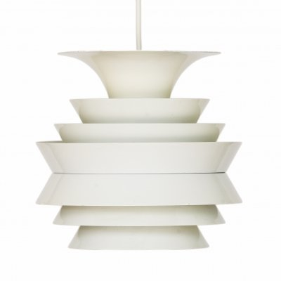 Pendant light 'Trava' in white aluminium by Carl Thore