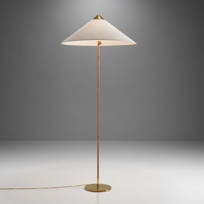 Paavo Tynell 'Chinese Hat' Model 9602 floor lamp, Finland 1950s