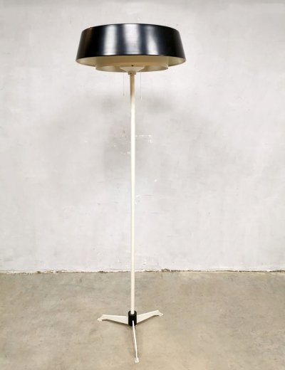 Vintage Dutch design floor lamp by Niek Hiemstra for Evolux Hiemstra