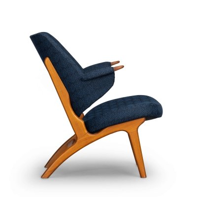 Danish vintage lounge chair Model 14 by Poul Hundevad, 1960s