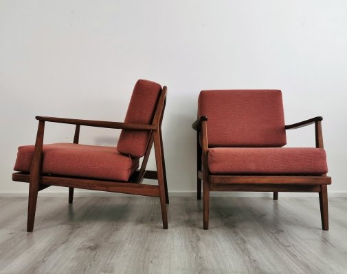 Scandinavian Modern Teak Easy Chairs
