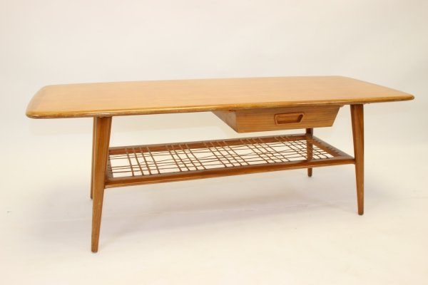 Coffee table by Louis van Teeffelen, 1950's