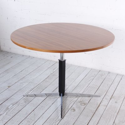 Height adjustable Dining Table by JM Thomas for Wilhelm Renz, 1960s