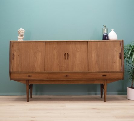 Danish design Highboard in teak, 1970s