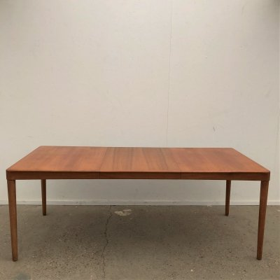 Teak dining table by H.W. Klein for Bramin, Denmark 1960s