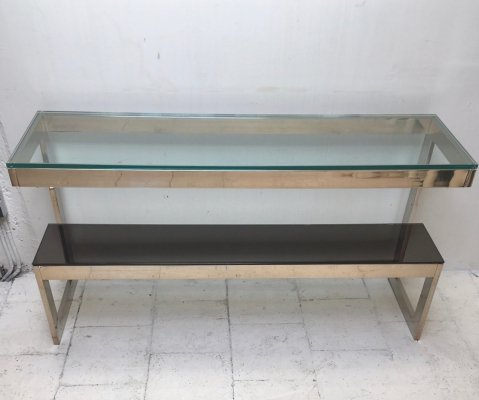Console side table by Belgo Chrom
