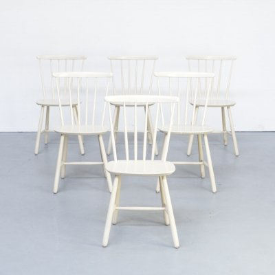 Set of 6 Mid Century dining chairs for Farstrup Mobler, 1970s