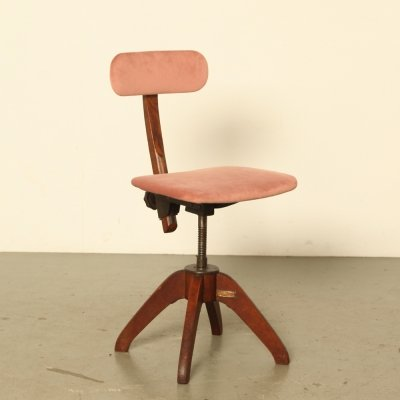 Office chair from Åtvidaberg, 1930s