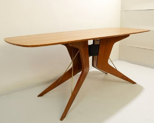 Sculptural Italian Dining Table, 1960s