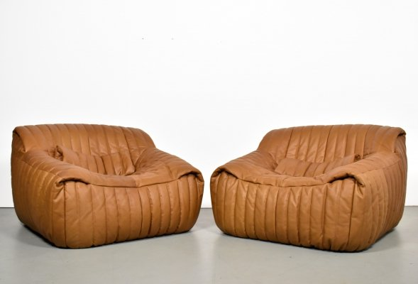 2 x lounge chair by Annie Hieronimus for Cinna, 1970s