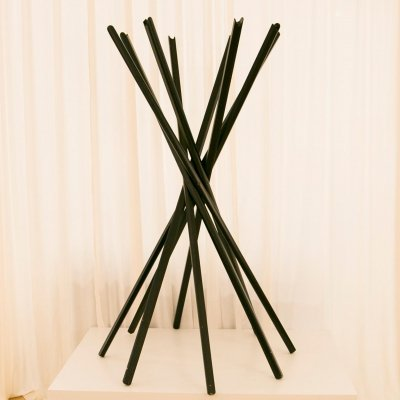 Sciangai Folding Coat Hanger by De Pas, D'urbino, Lomazzi for Zanotta