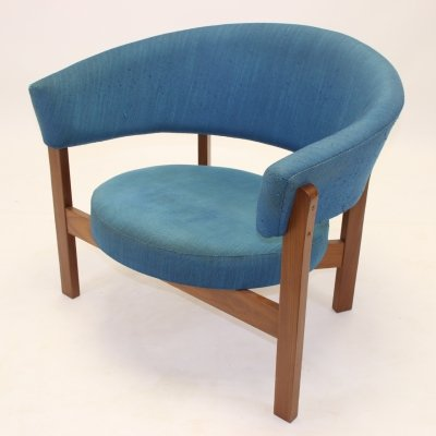 Large Blue Round 'Prim' Chair by IKEA, 1960s