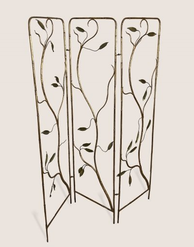 French room divider in brass, 1960s