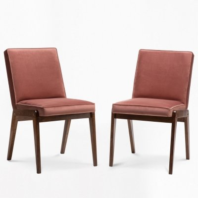 Pair of AGA chairs by J. Chierowski, 1970s