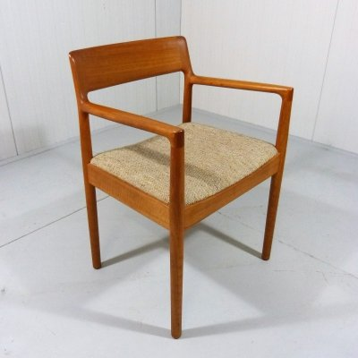 Teak Desk Chair, Denmark 1960's
