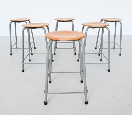 Industrial stools by Ahrend de Cirkel, The Netherlands 1970