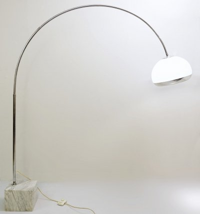 Arc Floor Lamp by Harvey Guzzini, 1970s