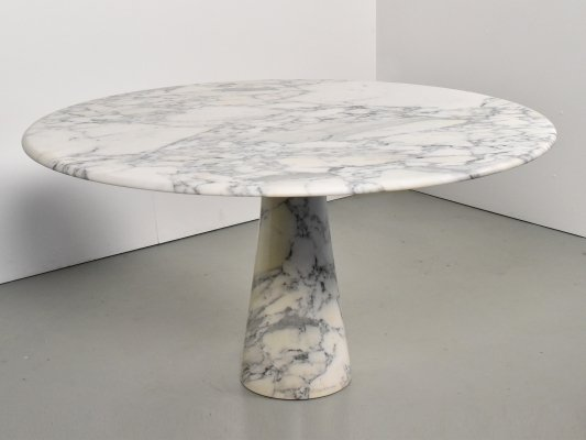 Italian marble dining table, 1970s