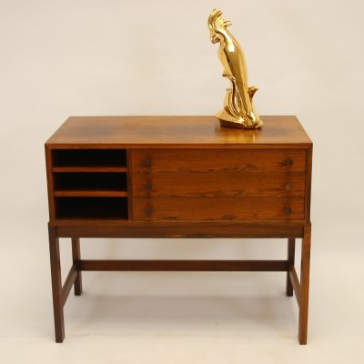 Scandinavian Rosewood chest of drawers / TV cabinet, 1960s
