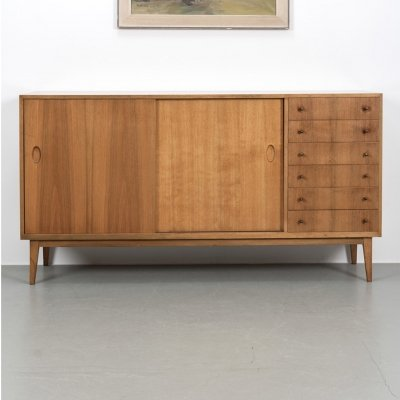 2 x Medium highboard by Georg Satink, 1950s