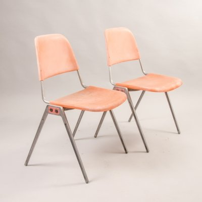 Set of 2 chairs 1601 by Don Albinson for Knoll Inc, 1960-70's