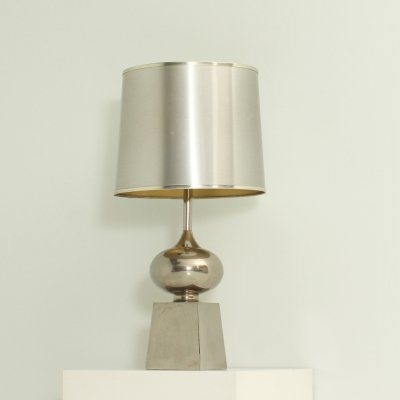 Large Table Lamp by Maison Barbier