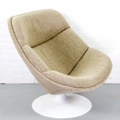 Original F557 lounge chair by Pierre Paulin for Artifort, 1960s