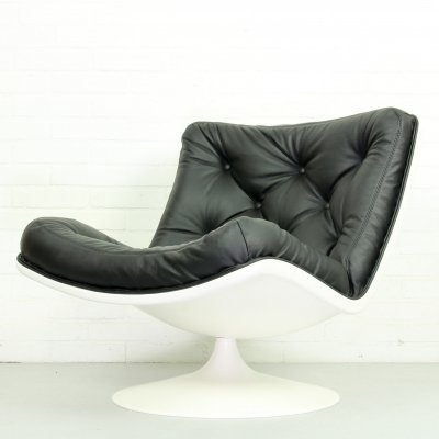 Mid Century F976 Artifort Lounge Chair by Geoffrey Harcourt for Artifort