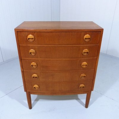 Teak chest of drawers, Denmark 1960's