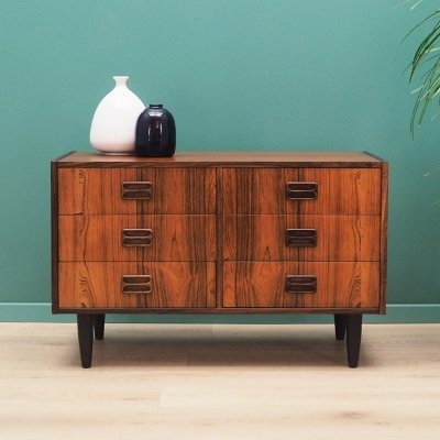 Danish design Chest of drawers in rosewood by Niels J. Thorsø, 1960s