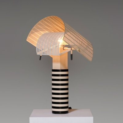 Early 'Shogun' Table Lamp by Mario Botta for Artemide, 1986