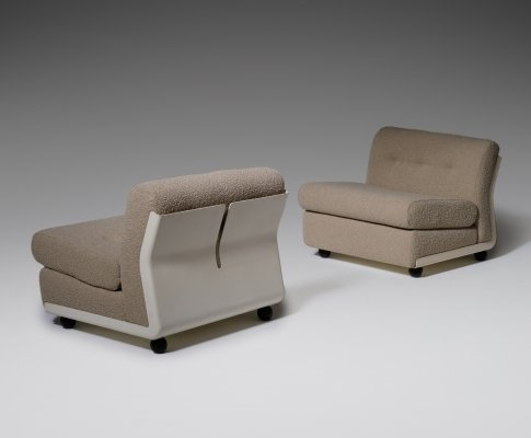 Set of two Amanta Modular Sofa elements by Mario Bellini for B&B Italia