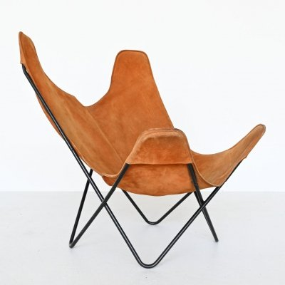 Butterfly chair by Jorge Hardoy Ferrari for Knoll USA, 1970