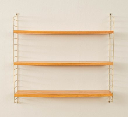 Original String wall unit by Nils Strinning, Sweden 1950s