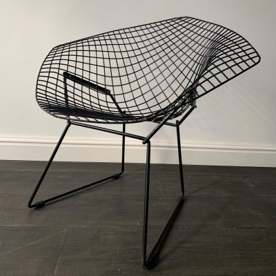 Diamond lounge chair by Harry Bertoia for De Coene for Knoll International, 1970s