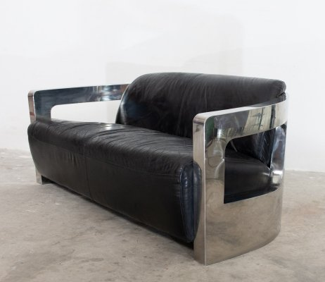 Aviator sofa, 1980s