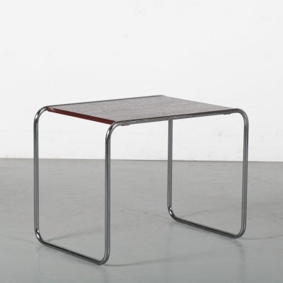 1970s Model 'B9' side table by Marcel Breuer for Gavina, Italy