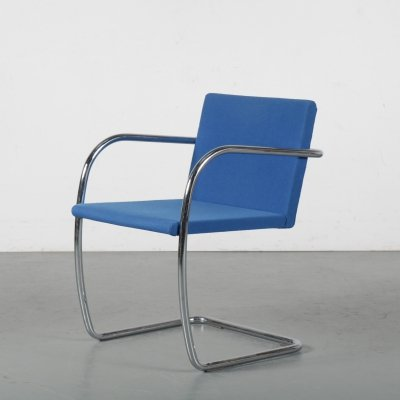 1970s 'BRNO' chair by Mies van der Rohe for Knoll, USA