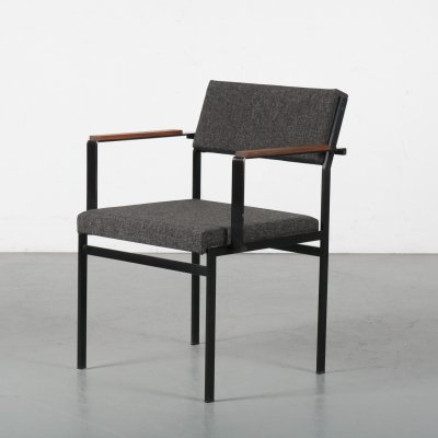 1950s Japanese series chair by Cees Braakman for Pastoe, Netherlands
